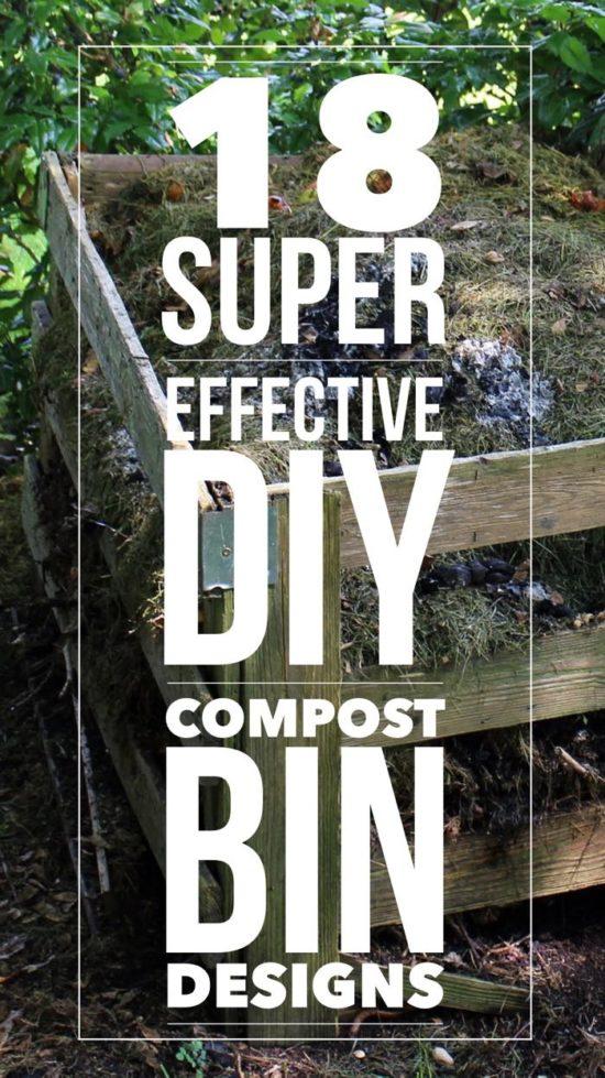 18 cool diy compost bin designs rh compostguide com